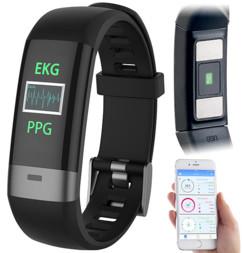 montre fitness runing avec capteur rythme cardiaque ecran tactile couleur application suivi des progres fbt80 newgen medicals