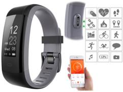 """Bracelet fitness avec écran XL """"FBT-110.HR"""""""