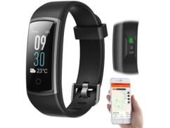 Bracelet fitness connecté avec mesure de fréquence cardiaque : FBT-57