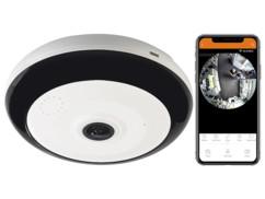 Caméra de surveillance connectée IPC-525.wide par 7Links.