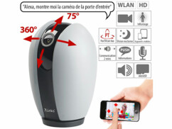 "Caméra de surveillance connectée IP HD compatible Echo Show ""IPC-340.echo"""