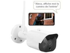 Caméra de surveillance extérieure IP Full HD connectée IPC-880