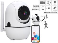 Caméra de surveillance IP Full HD connectée avec suivi intelligent IPC-460