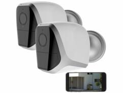 2 caméras de surveillance IP Full HD IPC-680