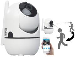 Caméra de surveillance IP HD connectée avec suivi de mouvement IPC-450.track