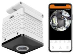 Caméra panoramique HD connectée IPC-515.wide de la marque 7Links.