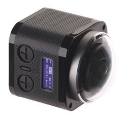 caméra sport avec lentille fish eye pour vidéo à 360 Somikon dv-4036