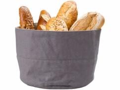 Corbeille à pain en coton de 20 cm de diamètre.
