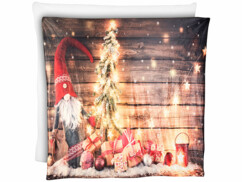 Couverture de Noël à LED 150 x 140 cm