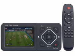 Enregistreur vidéo HDMI/USB/SD Full HD avec écran couleur Game Capture V4