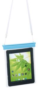 """pochette transparente avec cordelette bandoulière pour ipad ou tablette 10"""""""