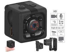 Micro caméra et webcam HD avec vision nocturne DV-710.cube