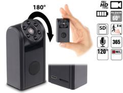 Mini caméra de poche HD 720p avec vision nocturne infrarouge et détecteur de mouvement raptor 7208 sumikon