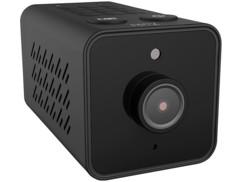 Mini caméra IP de surveillance connectée.
