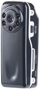 micro camera sport de poche resolution hd avec led infrarouge pour vidéo de nuit somikon raptor 720