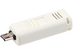 Mini éthylomètre et testeur d'haleine pour appareils Android Micro-USB