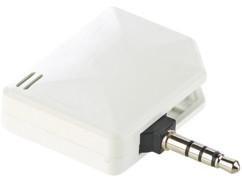 Mini éthylomètre et testeur d'haleine pour appareils iOS à prise jack 3,5 mm