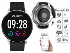Montre fitness IP67 avec cardio, tension et fonction bluetooth 4.0 SW-310.hr