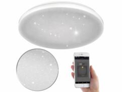 Plafonnier ciel étoilé connecté et compatible Amazon Alexa & Google Assistant