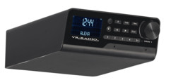 Radio de cuisine connectée DAB+/FM compatible Amazon Alexa / bluetooth, noir