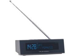 """Radio-réveil numérique FM/DAB+ avec écran LCD """"DOR-300"""""""