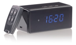 réveil digital avec caméra espion full hd cachée octacam