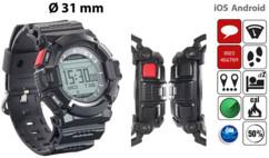 smartwatch antichoc outdoor avec tracker sport et notifications ios et android newgen medicals NX4272