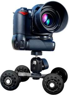 Stabilisateur roulant ''Dolly Skate'' pour appareil photo et caméra