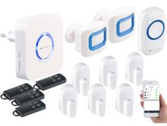 Système d'alarme connecté XMD-3000.avs - 13 accessoires