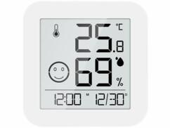 Thermomètre-hygromètre numérique Infactory avec écran E-Ink.