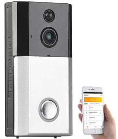 visiophone vision nocturne video avec application android iphone somikon vtk 260