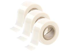 3 bandes d'étanchéité auto-adhésives (3 mètres) - blanc