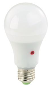 Pack de 4 ampoules LED E27 1000 lm avec détecteur d'obscurité - Lumière du jour