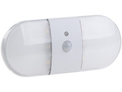 Applique murale LED sans fil 80 lm avec détecteur de mouvement et d'obscurité