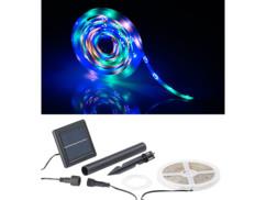 Bande à LED solaire 900 LED 3 m - 3 couleurs