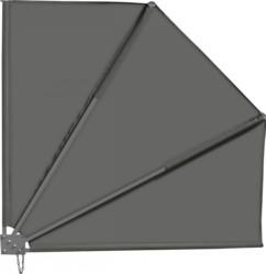 Brise-vue pour balcon 140 x 140 cm, gris anthracite