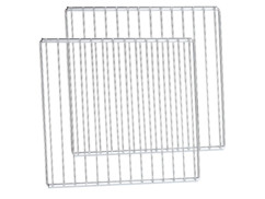 Paire de grilles universelles largeur réglable 35 à 61 cm pour four