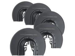 lot de 5 lames de scie circulaire 87 mm en HSS pour outils multifonctions agt et autres marques