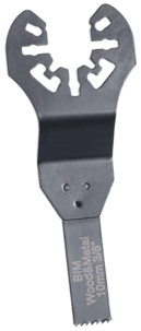 5 Lames de scie plongeante bimétal HSS 10 mm