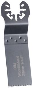 5 Lames de scie plongeante bimétal HSS 28 mm