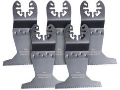 lot de 5 lames de scie plongeant hss 65mm pour metal et bois pour outils multifonctions toutes marques agt