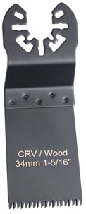 lame de scie de precision universelle 34 mm  pour outils multifonctions