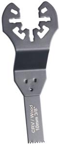 5 Lames de scie plongeante pour outils multifonctions, 10 mm, CRV