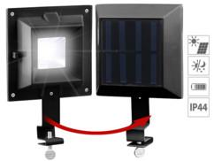 Lampe solaire clôture et gouttière à 6 LED SMD