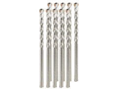 Pack de 10 forets à Béton - 5 mm