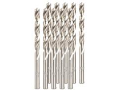 Pack de 10 forets HSS avec revêtement titane - 6 mm