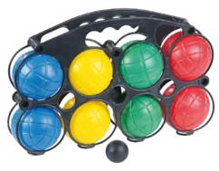 Pack de 8 boules de pétanque colorées en plastique