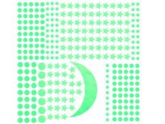 """Palette de 300 stickers phosphorescents """"Ciel Étoilé"""""""