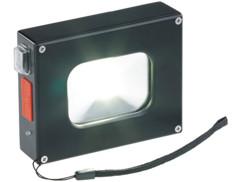 Projecteur à LED COB 370 lm / 10 W et batterie d'appoint 4000 mAh 2 en 1