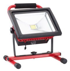 Projecteur de chantier LED étanche sans fil 30 W / 1500 lm